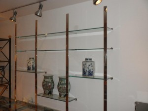 Bookcase-Étagère Stainless