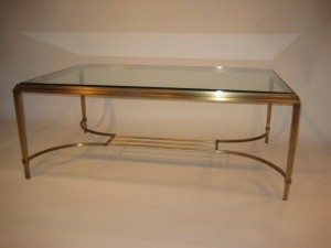 Brass Coffee Table Antique Finish