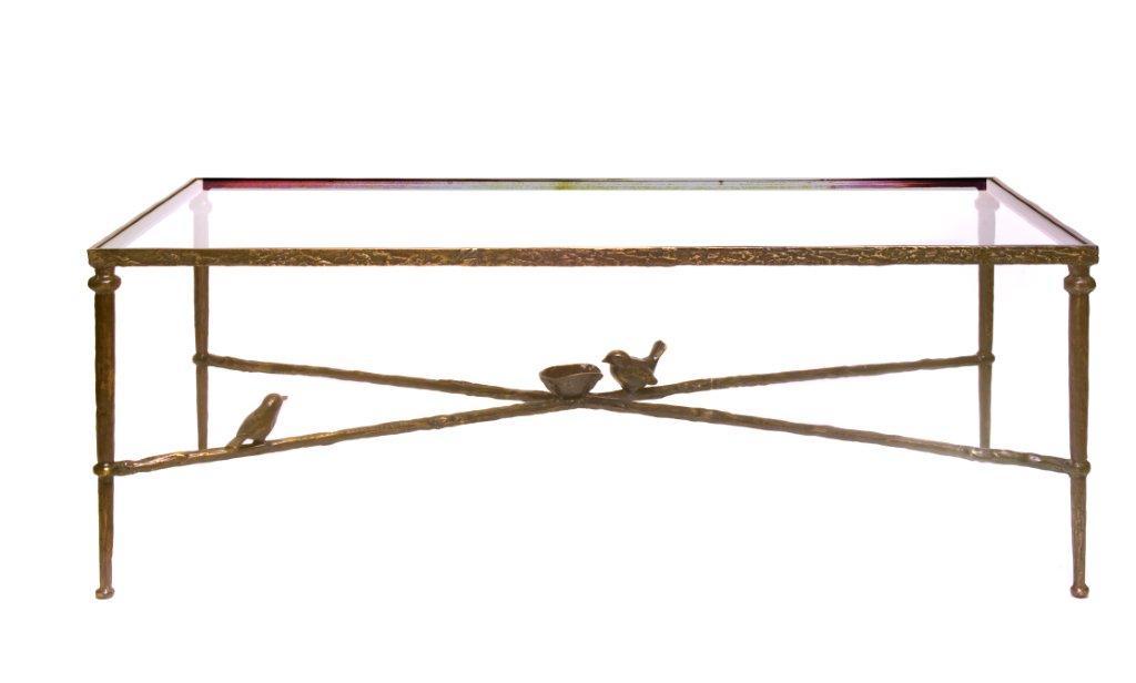 Giacometti Style Bird Table