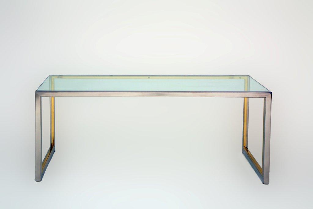 Waterfall Coffee Dining Console Table