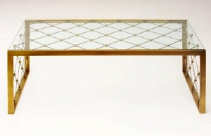 Royere Coffee Table In Bronze