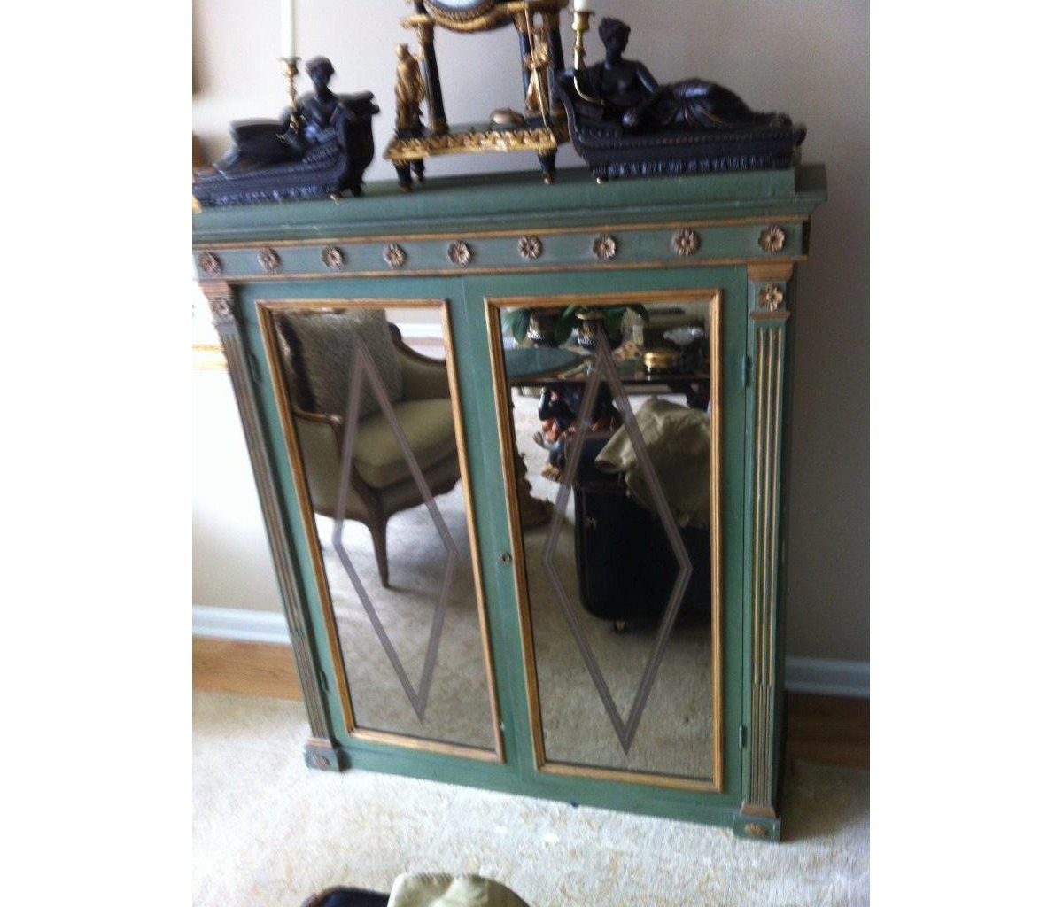 European Neo Classical Cabinet Base