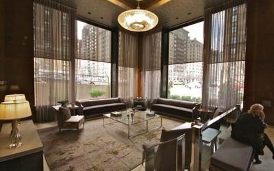 Coffee Table at 900 Park Ave. Lobby NY