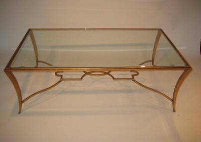 Saber Steel Wrought Iron Gold Leaf