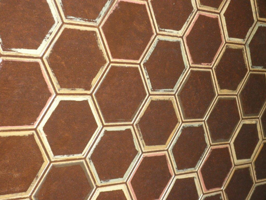 Thomas Buraki Base Brass Bronze Table Detail